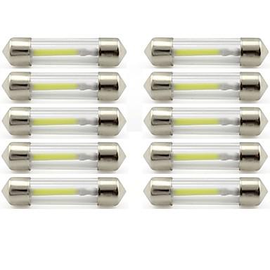 10pcs 41mm Automobil Žarulje 1 W COB 85 lm 1 LED Svjetla u unutrašnjosti / vanjska rasvjeta Za Univerzális Univerzális / KX5 Univerzalno