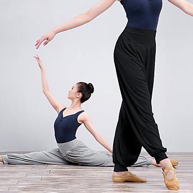 Balet Donji Žene Trening / Seksi blagdanski kostimi Elastan / Likra Elastika Hlače