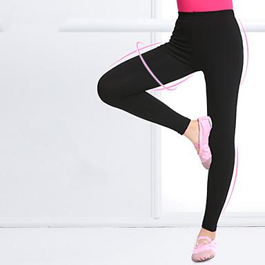Ballett Unten Mädchen Training / Leistung Elastan / Lycra Elastisch Normal Hosen