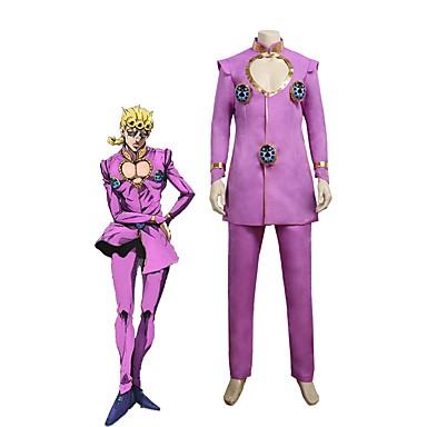 Inspirirana JoJo je Bizarno Avantura Giorno Giovanna / JoJo Anime Cosplay nošnje Japanski Cosplay Suits Other Dugih rukava Top / Hlače Za Uniseks