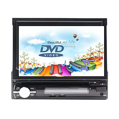7 pollice 1 Din Windows CE In-Dash DVD Player GPS / Schermo touch / Bluetooth integrato per Universali Supporto / Pannello smontabile / Supporto per scheda SD e attacco USB / 800 x 480 / Tedesco