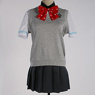 Inspirirana Besplatno! Gou Matsuoka / školarke Anime Cosplay nošnje Japanski Cosplay Suits / School Uniforms Jednobojni / Jednostavan Top / Hlače / Luk Za Muškarci / Žene