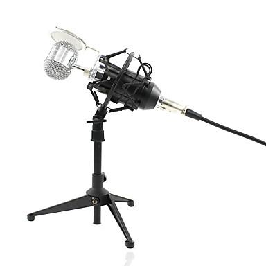 Com Fio Microfone Microfone Condensador Microfone Portátil Para PC