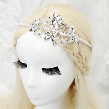 Legura Trake za kosu s Crystal / Rhinestone 1pc Vjenčanje / Special Occasion / Rođendan Glava