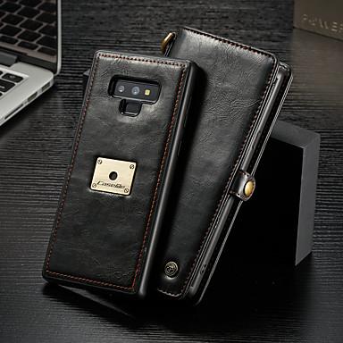 Θήκη Za Samsung Galaxy Note 9 Novčanik / Utor za kartice / Zaokret Korice Jednobojni Tvrdo PU koža