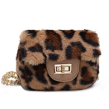 cheap Kids' Bags-Women's Bags Velvet Kids' Bag Zipper Pink / Brown / Khaki
