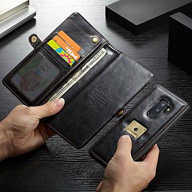 Θήκη Za Samsung Galaxy S9 Plus Novčanik / Utor za kartice / Otporno na trešnju Korice Jednobojni Tvrdo PU koža
