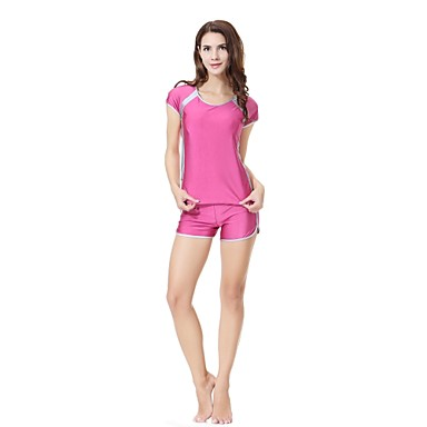 Per Donna Essenziale Con Bretelline Blu Marino Fucsia Lavanda Boy Leg Tankini Costumi Da Bagno - Monocolore Xl Xxl Xxxl Blu Marino #07058926