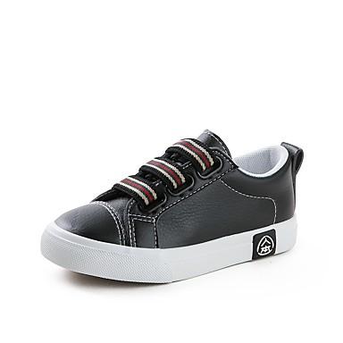 Affidabile Da Ragazzo Scarpe Pu (poliuretano) Autunno Comoda Sneakers Per Per Ragazzi Bianco - Nero #07108282