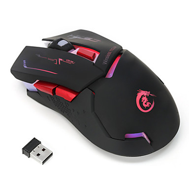 HXSJ X30 Wireless 2 4G Gaming Mouse / Office Mouse Led Light