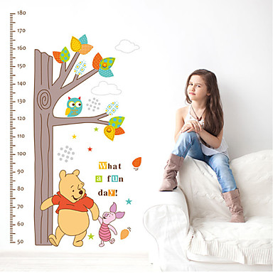 Height Stickers - Plane Wall Stickers Animals / Floral / Botanical Living Room / Bedroom / Kitchen