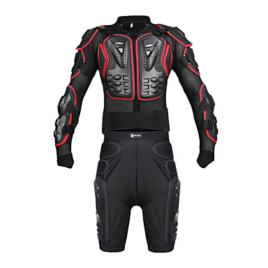cheap Motorcycle Protection Gear-WOSAWE Motorcycle Crash Suit Sport Armor Off-road Racing Crash Suits Motorcycle Protective  Equipment Set