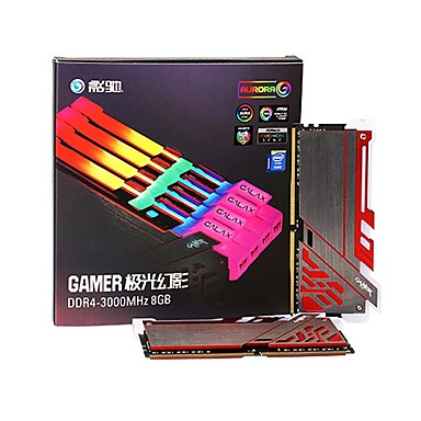 Galaxy RAM 8GB DDR4 3000MHz Desktop Memory Galaxy GAMER 3000 8G RGB