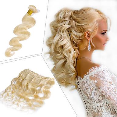 1 Pakiet Włosy brazylijskie Body wave Włosy naturalne remy Doczepy z naturalnych włosów 10-26 in Ludzkie włosy wyplata Miękka Najwyższa jakość Nowości Ludzkich włosów rozszerzeniach Damskie