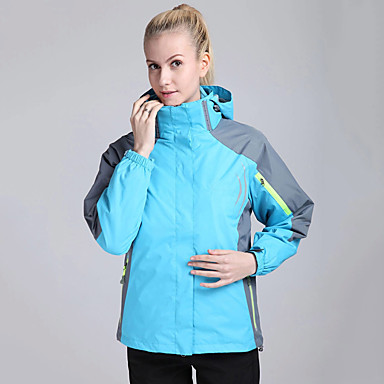 Women's Hiking 3-in-1 Jackets outdoor Spring Fall Winter Windproof Thermal / Warm Quick Dry Ultraviolet Resistant Wearable Sweat-wicking Thick Hiking Jackets Camping & Hiking Apparel & Accessories