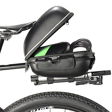 abordables Sacoches de Vélo-ROCKBROS Sacoche de Selle de Vélo Sacs de Porte-Bagage Réfléchissant Grande Capacité Etanche Sac de Vélo EVA de haute qualité Alliage d'aluminium Sac de Cyclisme Sacoche de Vélo Cyclisme Vélo de