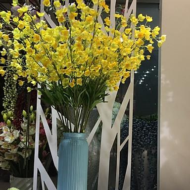Fleurs artificielles 1 Une succursale Classique Elégant Style Simple Fleurs éternelles Fleur de Table