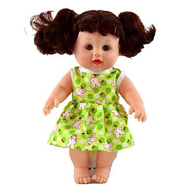 halpa Nukke-Reborn Dolls Tyttö Nukke Puhuva lelu Poikavauvat Tyttövauvat 12 inch Silikoni - Smart elävä Lapset / nuoret Lasten Unisex Lelut Lahja