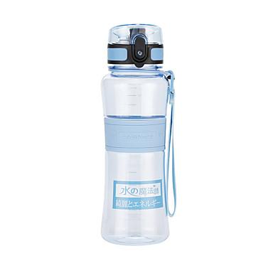 billige Sykkeltilbehør-UZSPACE® vannkoker Vannflasker 500 ml PP PC Matbokser Bærbar Kul til Reise Backcountry Utendørs Grønn Lilla Fuksia Oransje Marineblå