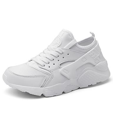 Erkek Ayakkabı Örümcek Ağı / Tissage Volant Yaz Sportif Atletik Ayakkabılar Koşu Günlük için Siyah / Beyaz / Ordu Yeşili