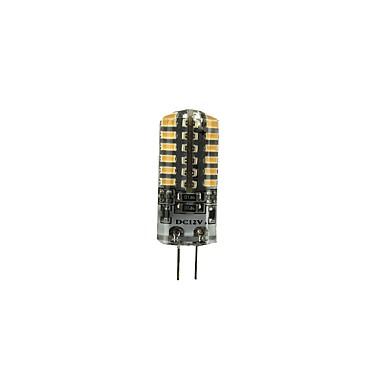 billige Elpærer-1pc 3 W LED-lamper med G-sokkel 90-105 lm G4 T 48 LED perler SMD 3014 Smuk Varm hvit Kjølig hvit 12 V
