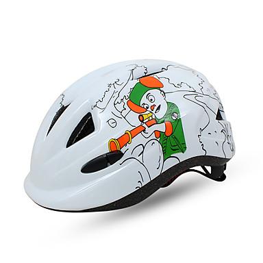 abordables Casques de Cyclisme-BAT FOX Enfant Casque de vélo 10 Aération CE Résistant aux impacts Intégralement moulé Ventilation EPS PC Des sports Vélo de Route Vélo tout terrain / VTT Activités Extérieures - Blanc Fuchsia Rouge