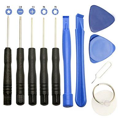 baratos Chaves de Fenda & Soquete-chave de fenda do telefone móvel inteligente 11 em 1 desmontar ferramentas de mão de alavanca de abertura
