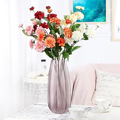 Keinotekoinen Flowers 1 haara Klassinen Häät Hääkukat Krysanteemi Eternal Flowers Pöytäkukka