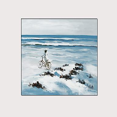 Painettu Pingoitetut kanvasprintit - Maisema Moderni Moderni Art Prints