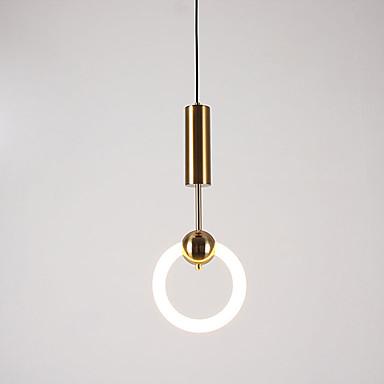 Pyöreät Riipus valot Alavalot Metalli 220-240V Valkoinen