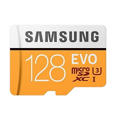 abordables Cartes Mémoire-SAMSUNG 128GB TF carte Micro SD Card carte mémoire Class10 U3 C10 4K EVO plus