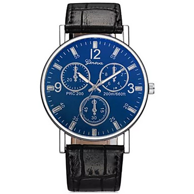 abordables Relojes Automáticos-Hombre El reloj mecánico Digital Piel Negro / Marrón No LCD Analógico-Digital Moda Aristo - Negro Azul Oscuro Marrón Un año Vida de la Batería