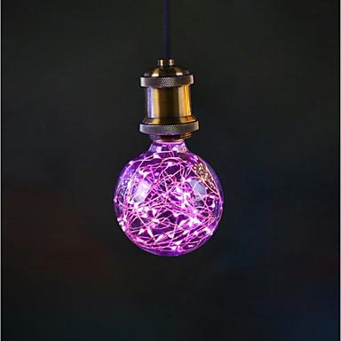 1kpl 3 W LED-pallolamput 190-290 lm E26 / E27 33 LED-helmet 85-265 V