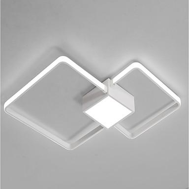 Geometrik Gömme Montajlı Işıklar Göz Koruyucu 220-240V Beyaz / Uzaktan Kumandayla Kısılabilir / Sıcak Beyaz + Beyaz