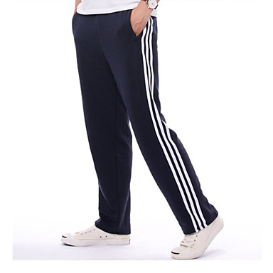 988bf59788d2a Unisex Elastic Waistband Running Pants Track Pants Sports Solid Color Pants  / Trousers Bottoms Fitness Gym
