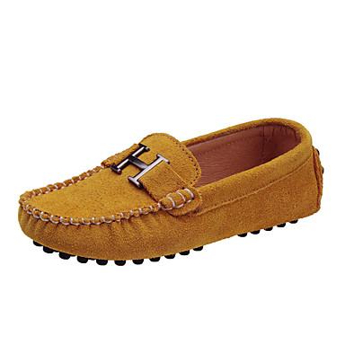 זול תינוק & ילדים-בנים / בנות סוויד נעליים ללא שרוכים ילדים קטנים (4-7) / ילדים גדולים (7 שנים +) נוחות פוקסיה / כחול / חאקי אביב / גומי