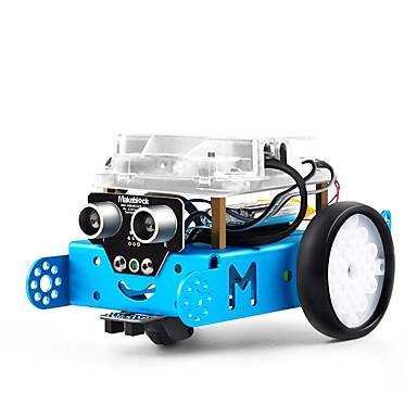 voordelige Elektrische apparatuur & benodigdheden-makeblock mbot intelligent educatief speelgoedonderwijs leren robot programmeerbare vergadering robotauto