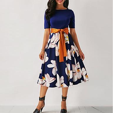 34825ded6b94 cheap New Arrivals-2019 New Arrival Dresses Women's Floral Plus Size