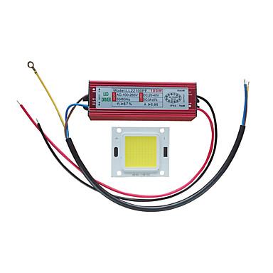 ชิปซัง LED พลังงานสูง 100w พร้อมไฟ led ไดรเวอร์สำหรับไฟน้ำท่วม 100-240v
