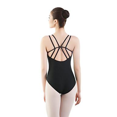 Danse classique justaucorps Femme Entraînement / Utilisation Chinlon / Elasthanne / Viscose Bandeau Sans Manches Collant / Combinaison