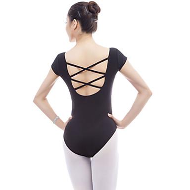 Danza classica Body Per donna Addestramento / Prestazioni Chinlon / Elastene / Viscosa A fasce Manica corta Calzamaglia / Pigiama intero