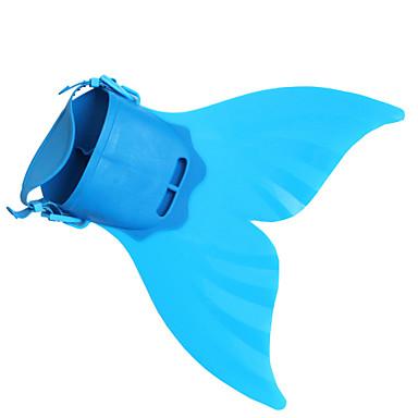 Merenneito Aqua Princess Cosplay-Asut Poikien Tyttöjen Elokuva Cosplay Merenneito alushame Merenneito Vihreä / Sininen / Pinkki Merenneito Fishtail Halloween Masquerade TPR PP