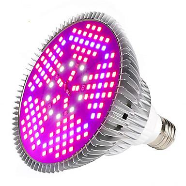 1pc 100 W 6000-7000 lm E26 / E27 Wachsende Glühbirne 150 LED-Perlen SMD 5730 Vollspektrum Weiß Rot Blau 85-265 V
