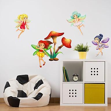 Ozdobné samolepky na zeď - Samolepky na stěnu Abstraktní Ložnice / studovna či kancelář