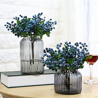 billige Kunstige blomster-Kunstige blomster 5 Afdeling Klassisk Stilfuld minimalistisk stil Planter Evige blomster Bordblomst