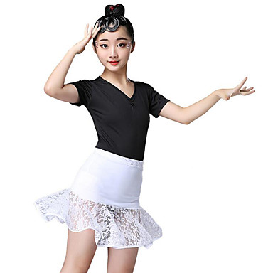 29c1124da0fd Latin Dance / Kids' Dancewear Outfits Girls' Training / Performance Spandex  Lace / Cascading