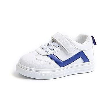 Attento Da Ragazzo Scarpe Pu (poliuretano) Primavera Comoda Sneakers Per Bambino (1-4 Anni) Nero - Blu - Rosa #07201944 Ultima Moda