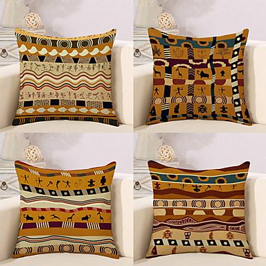 billige Putevar-4.0 stk Bomull / Lin Putevar, Spesielt design Klassisk Kunstutsmykket Tradisjonell / vintage Klassisk Lolita