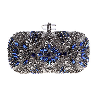 fd16490fa155 Women's Bags Acrylic / Alloy Evening Bag Buttons / Crystals Silver /  Rhinestone Crystal Evening Bags / Rhinestone Crystal Evening Bags / Fall &  Winter