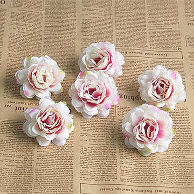 Fiori Artificiali 6 Ramo Classico Europeo Bouquet Sposa Rose Fiori Eterni Fiori Da Tavolo #07155515 Domanda Che Supera L'Offerta